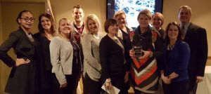 Lloyd Property Management Team Receiving Best Management Firm Award