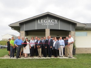 Legacy Landing Ribbon Cutting